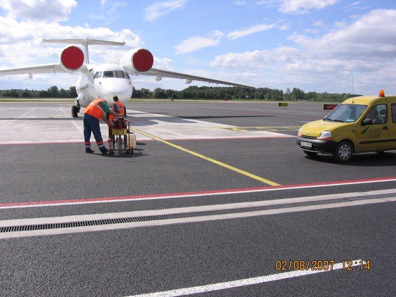 Tallinna Lennujaama lennuliiklusala rekonstrueerimise omanikujärelevalve