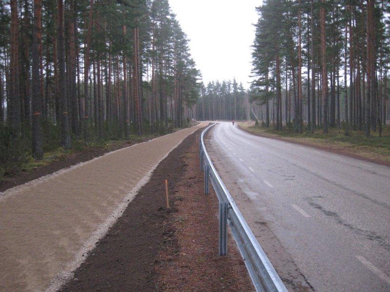 Tee 18179 Värska Sanatooriumi tee äärde jalgtee ehituse omanikujärelevalve teostamine