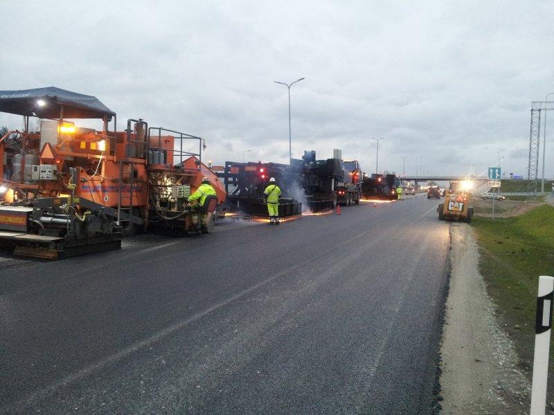 Omanikujärelevalve asfaltkatete kuumtaastamisele 2014
