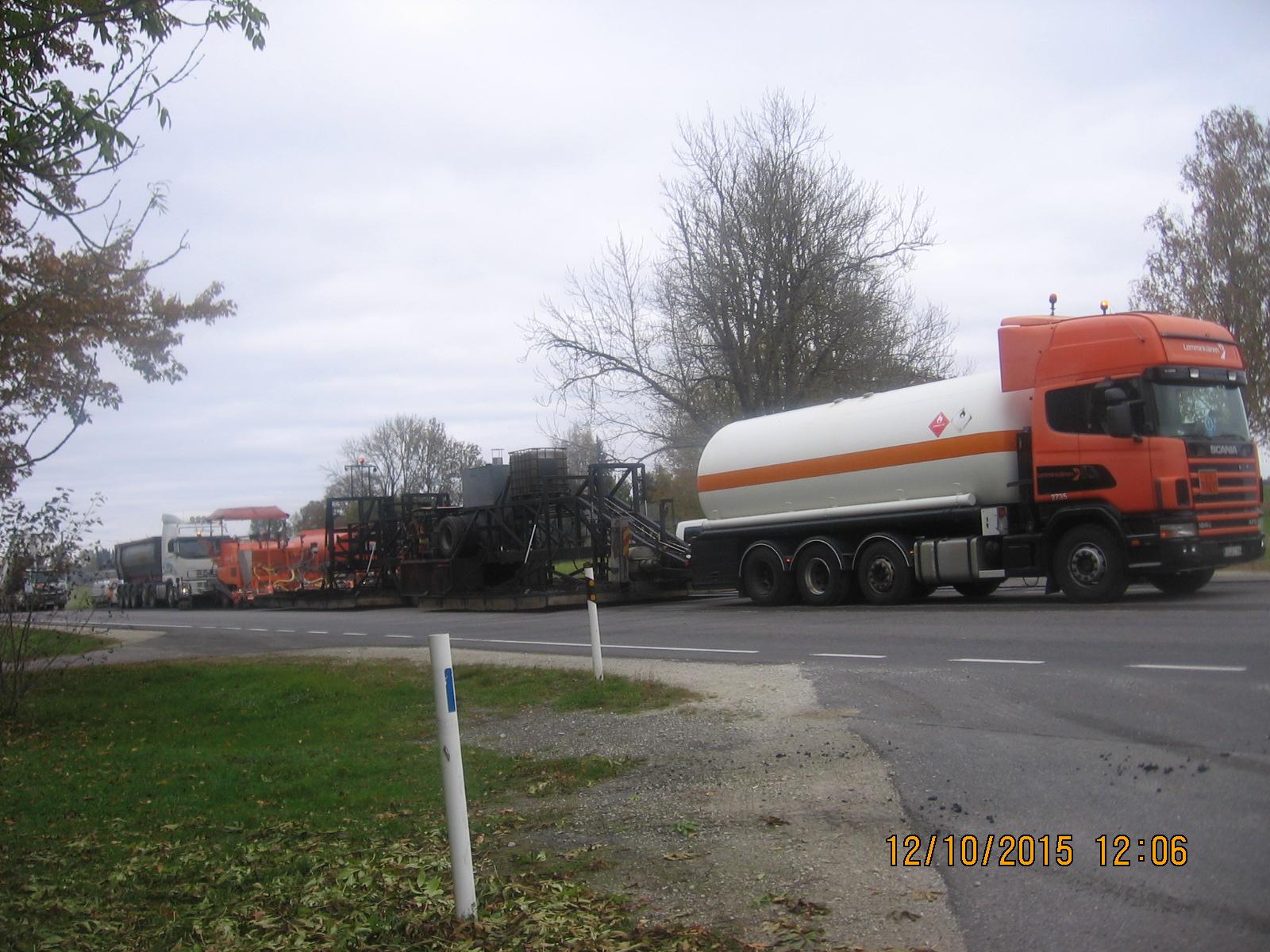 Omanikujärelevalve teostamine asfaltkatete kuumtaastamisele riigimaanteedel 1 Tallinn-Narva km 140,7-146,15 ja 2 Tallinn-Tartu-Võru-Luhamaa km 91,2-100,0