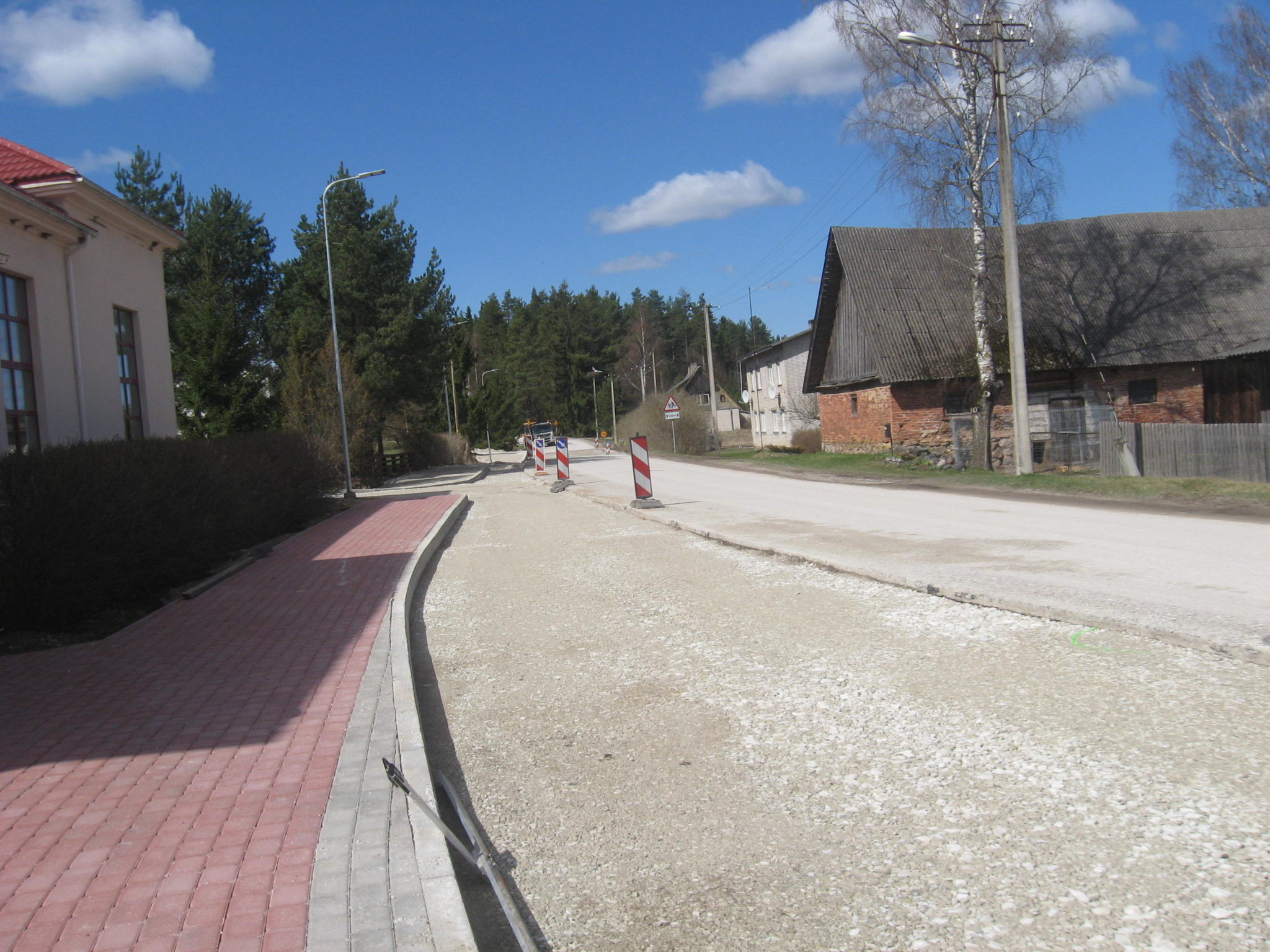 Riigimaantee nr 23122 Sooru – Piiri km 0,018-1,383 Sooru jalgratta- ja jalgtee ehituse I etapi omanikujärelevalve