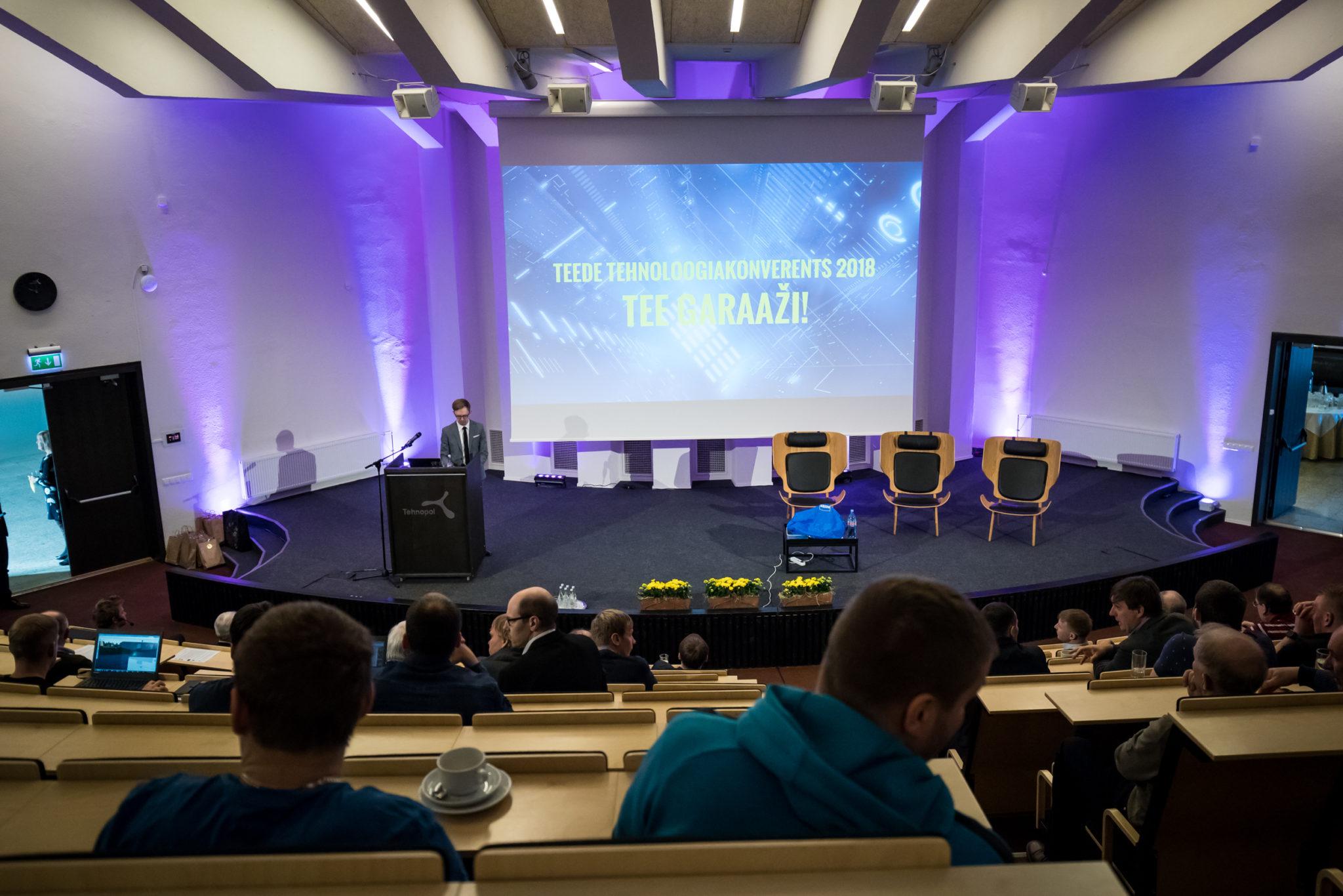 Teede Tehnoloogiakonverents 2018 ettekanded ja pildid